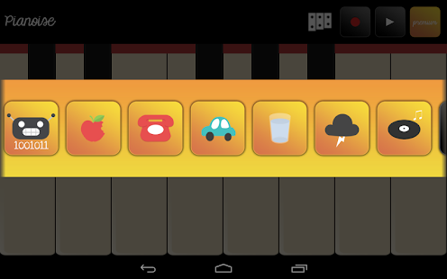 Sound Piano for Kids Pianoise- screenshot thumbnail