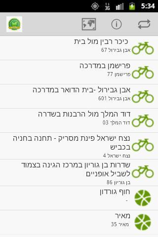 אפליקצית תל אביב ירוקה