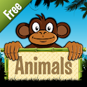 Animals Fun Learning Game-Free icon