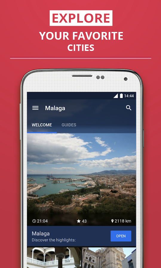 Málaga Travel Guide - screenshot