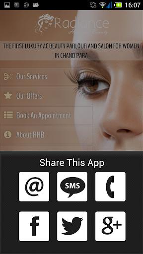 【免費健康App】Radiance Hair and Beauty-APP點子