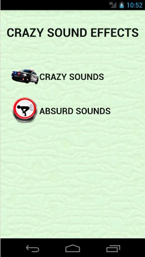 疯狂与荒诞音效