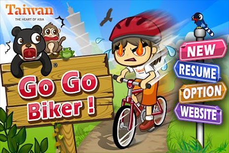 Go Go Biker ! - screenshot thumbnail