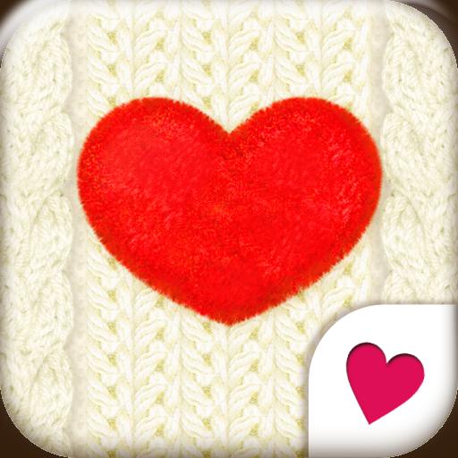 可愛換裝桌布★White Knit LOGO-APP點子