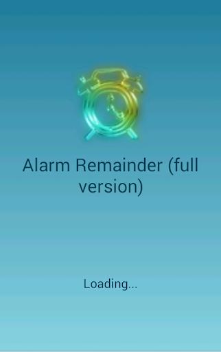 Alarm Remainder Pro version