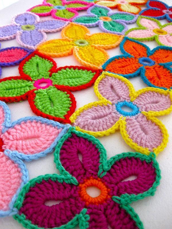 Alfa img - Showing > Crochet Flower Tutorial Step by Step