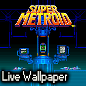 Super Metroid Live Wallpaper