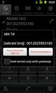 ABA tel - screenshot thumbnail