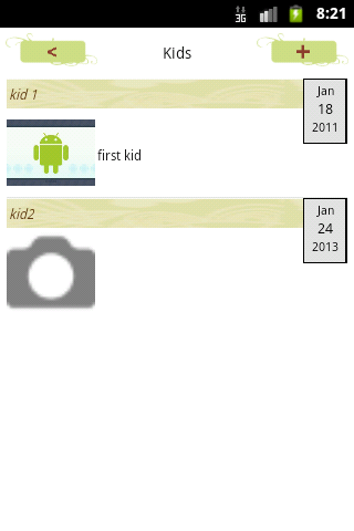 Baby Care Diary and Journal- screenshot