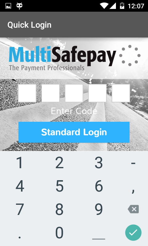 MultiSafepay Control- screenshot