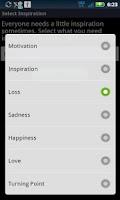 Screenshot of Inspire Bible Verse Widget