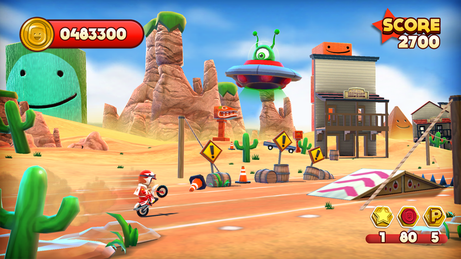 Joe Danger- screenshot