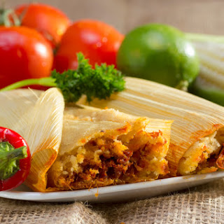 Corn Husk-Wrapped Tangy Tamales