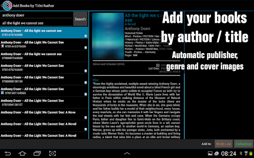 CLZ Books - Book Database- screenshot thumbnail