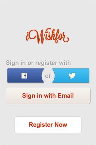 iWishFor - Wish List