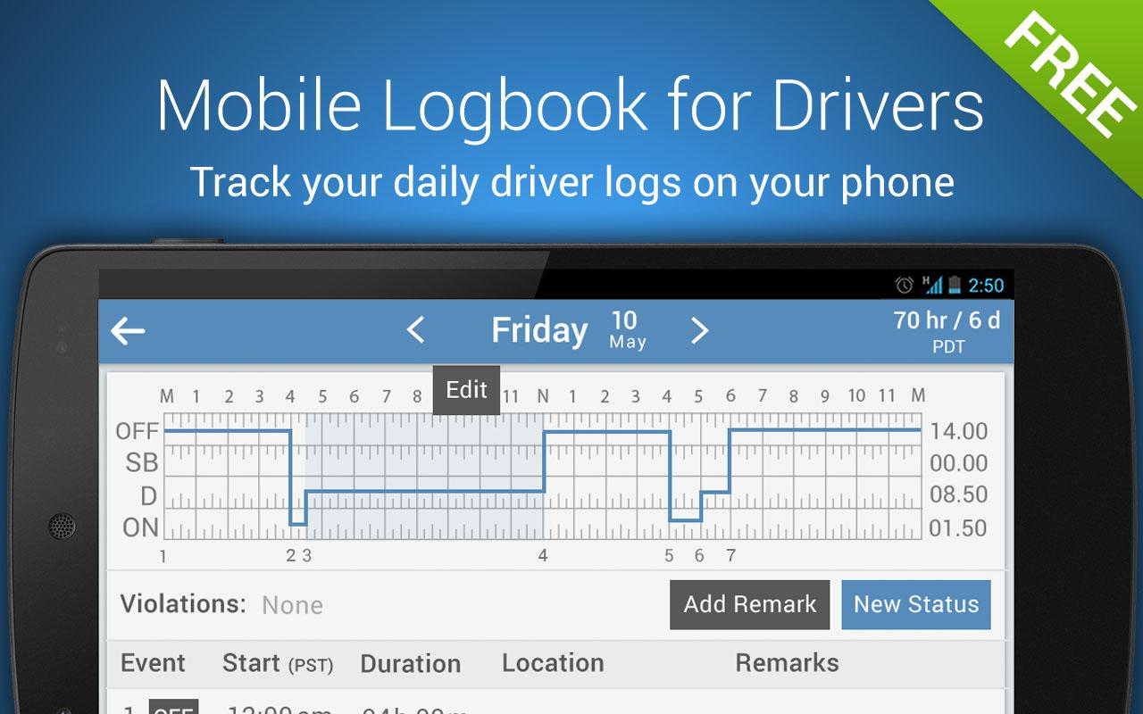 Trucker Logbook Keeptruckin Android Apps On Google Play
