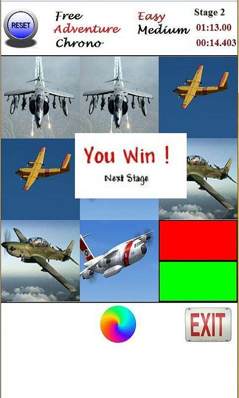 Memory - World Air Force Cards- screenshot