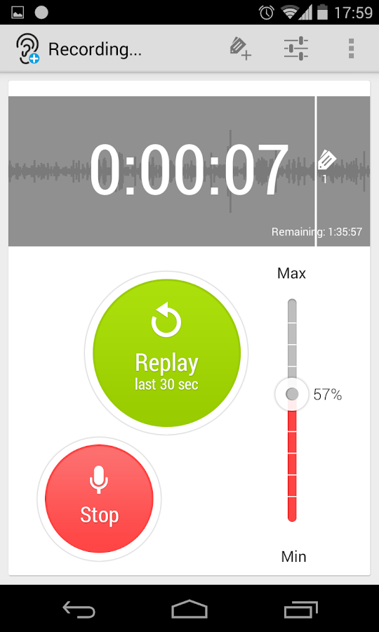 Hearing Aid with Replay (Lite)- screenshot