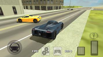 Screenshot of Luxury Car Driving 3D