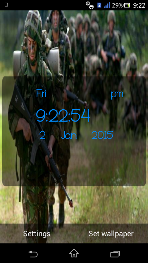 british army live wallpaper android apps on google play