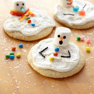 Sunny Day Snowman Cookies.