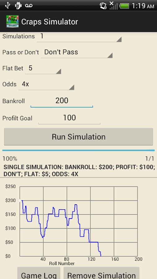 Free craps simulator online