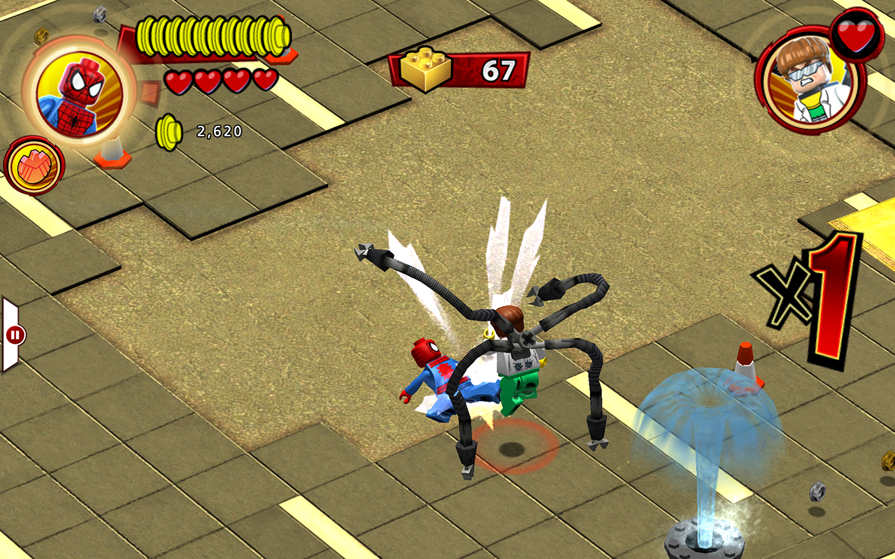 LEGO ® Marvel Super Heroes screenshot #6