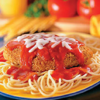 Classic Chicken Parmesan.
