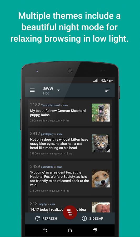 Reddit News Pro - screenshot