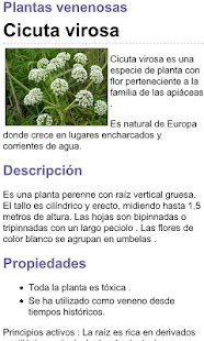 Plantas Venenosas - screenshot thumbnail
