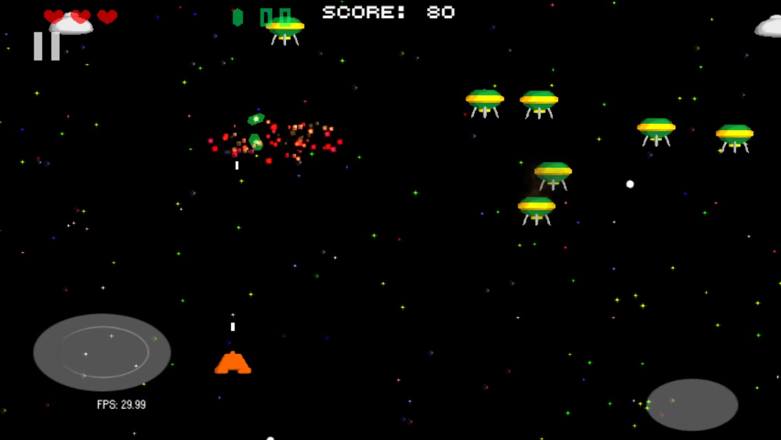 Oldschool Blast,Space Shooting- screenshot