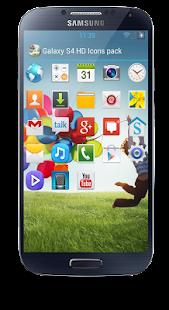 Galaxy S4 HD Icon pack theme - screenshot thumbnail