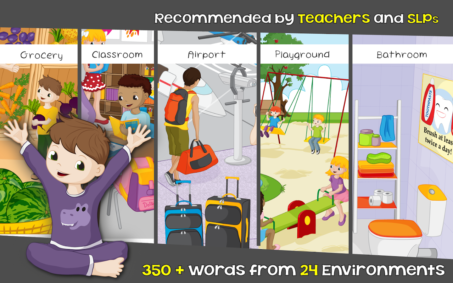 Words for Kids - Reading Game!- screenshot