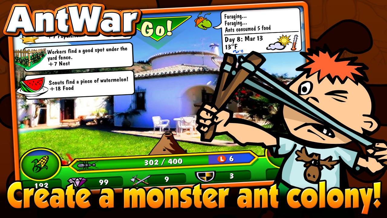 Ant Wars 2.1.2 APK Download - Ant Warz