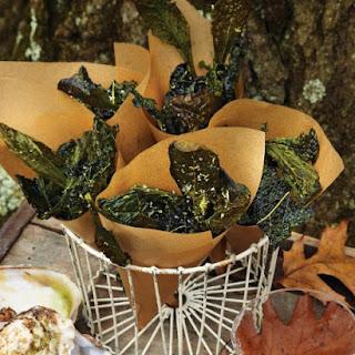 Kale Crisps with Sea Salt and Lemon Recipe