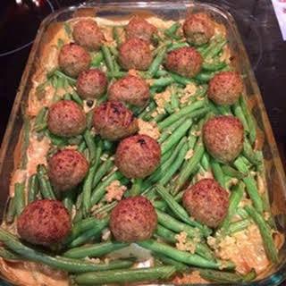 Swedish Meatball Casserole.