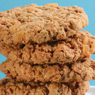 Ginger Oatmeal Raisin Cookies.