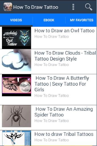 【免費教育App】How To Draw Tattoo-APP點子