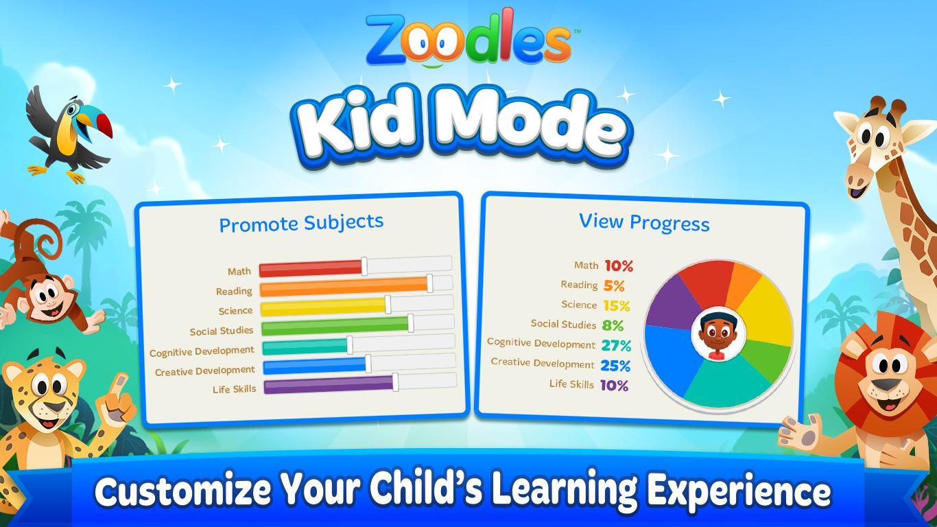 Kid Mode: Free Learning Games - Revenue & Download estimates ...