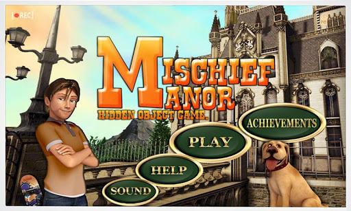 Mischief Manor - Hidden Object