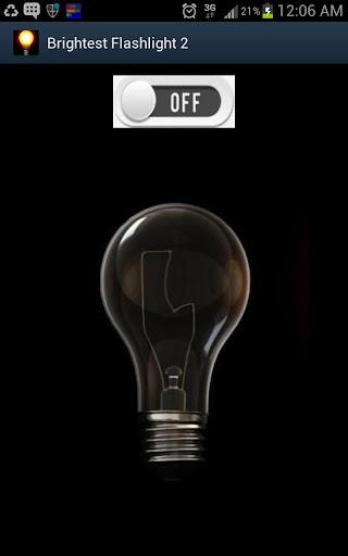 玩免費工具APP|下載Brightest Flashlight 2 AtoZ ™ app不用錢|硬是要APP