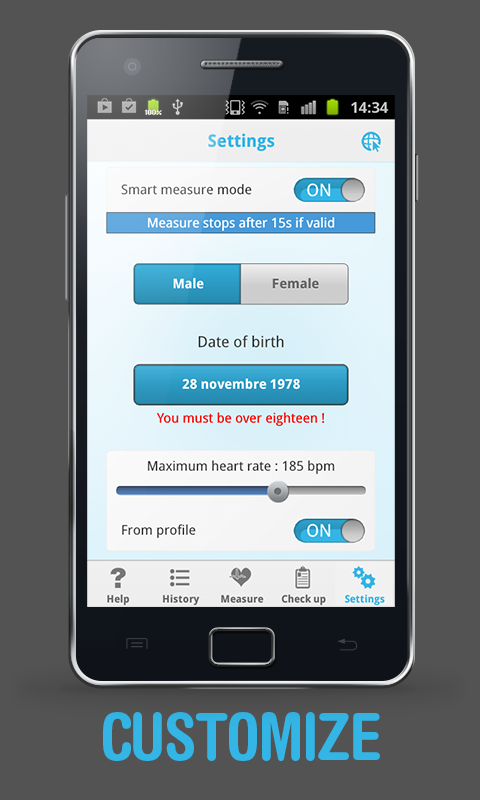 Heart Beat Rate - Pro- screenshot