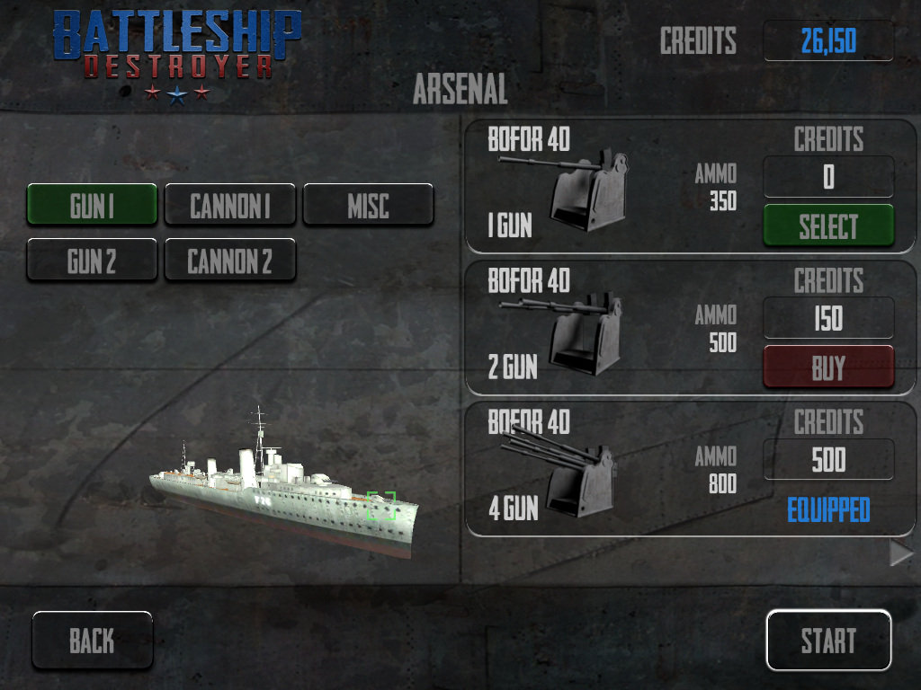 Battleship Destroyer- screenshot