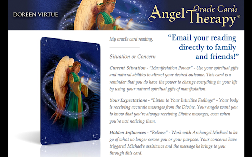 Angel Therapy Oracle Cards- screenshot thumbnail