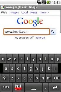 Barcodescanner Keyboard - screenshot thumbnail