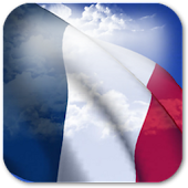 3D France Flag Live Wallpaper+