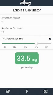 Marijuana Cooking Calculator- screenshot thumbnail