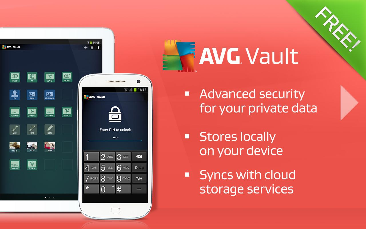 AVG Vault– Hide, Store & Sync - screenshot