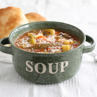 Easy Minestrone Soup.