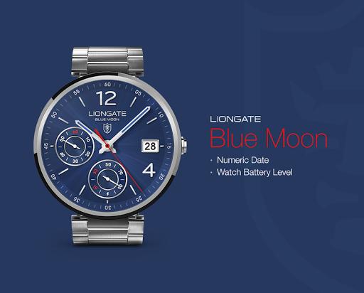 Blue Moon watchface by Liongat